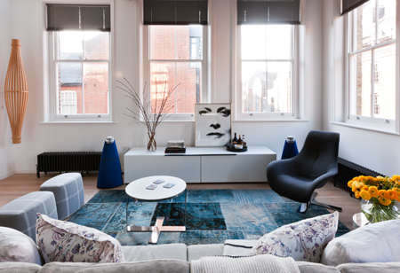 <b> House tours: </b> Look around this fabulous London loft apartment