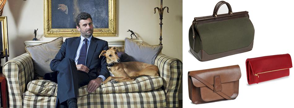 <b> My style: </b> Luxury leather retailer and English eccentric Trevor Pickett