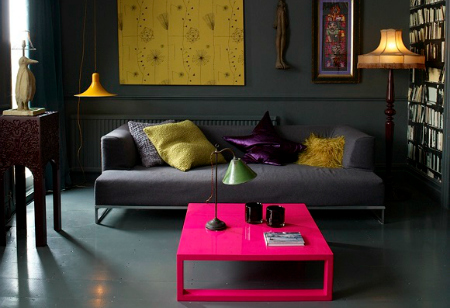 <b> Get the Look: </b> Banish beige and brave a bright, beautiful interior