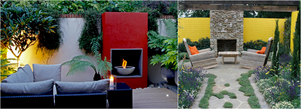 <b> Gardens: </b> When it's cold outside… curl up next to a garden fire
