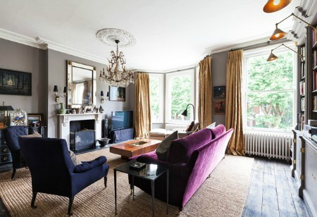 <b> House Tour: </b> Fantasy home of the week – a classically elegant London townhouse