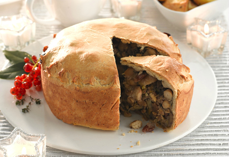 <b> Recipe: </b> Stuck for inspiration for a vegan guest at Christmas? Try this hearty pie