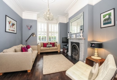 <b> House tours: </b> This London home complements fabulous period features with confident design