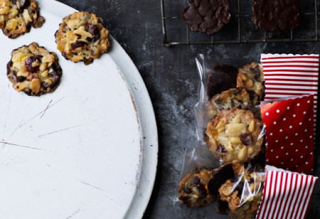 <b> Food: </b> Give these homemade festive florentines to your friends and family this Christmas