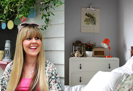 <b> My style: </b> Interior blogger Caroline Rowland from Patchwork Harmony