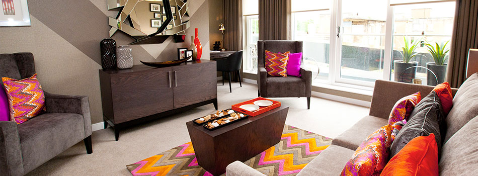 <b> House tours: </b> Take a tour of an Art Deco-inspired family home with pops of bright colour