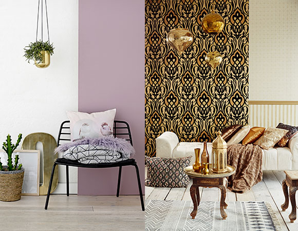 Metals a hot trend in home dcor modern colorful home decor for Bronze living room ideas