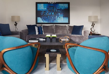 <b> House tours: </b> Be inspired by the new season colours and appealing textures in this stunning London apartment