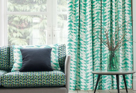<b> Stylist's notebook: </b> Learn how to mix this season's hottest patterns in your home