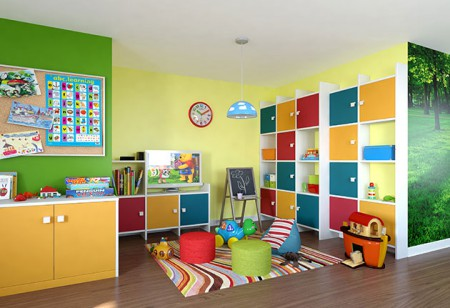 <b> Smart storage: </b> Decluttering expert Vicky Silverthorn&#8217;s ideas for children&#8217;s rooms