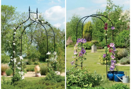 <b> Editor&#8217;s pick: </b> Glam up your garden with pretty arches
