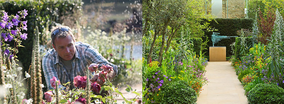 <b> Gorgeous Garden: </b> Ideas by designer and TV presenter Chris Beardshaw