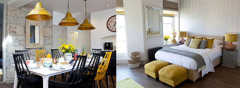<b> House Tour: </b> Feel the sun on your face in this refreshing Cornish townhouse