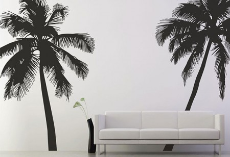 <b> Let&#8217;s get tropical: </b> Wall stickers with an exotic flair