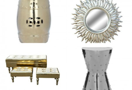 <b> Editor&#8217;s Pick: </b>  Metallic accessories we love