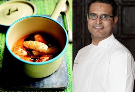 <b> Easy Summer Food: </b> Atul Kochhar's seafood korma recipe and top cooking tip