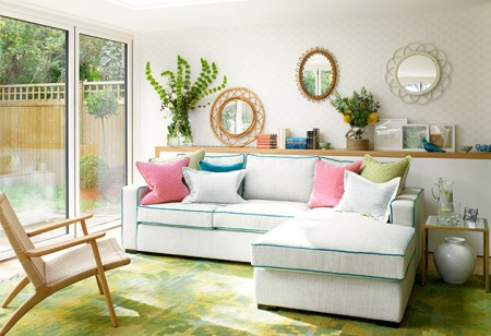 <b> House Tour: </b> Fresh hues, simple patterns and natural textures in this beautiful home