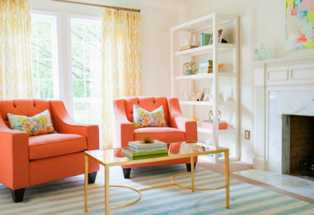 <b> Top 5 summery room schemes: </b> By Tristan Hay Interiors