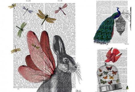 <b> Wall Decor: </b> Eccentric and charming artwork from Dotty Dictionary