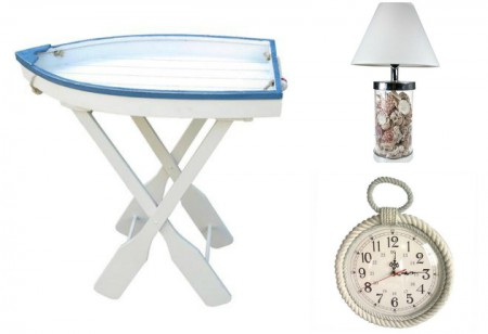 <b> Ohh we do like to be beside the seaside: </b> Maritime home accents