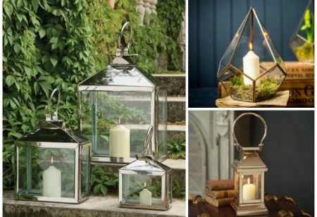 <b> Lovely Lanterns: </b> Decorative accents for the home and garden
