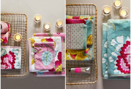 <b> Bright and Bold: </b> A beautiful bathroom range from PiP Studio