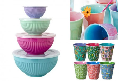 <b> Summer Dining: </b> A colourful collection from RICE