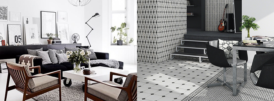 <b> Decorating Ideas: </b> 5 ways to work monochrome at home