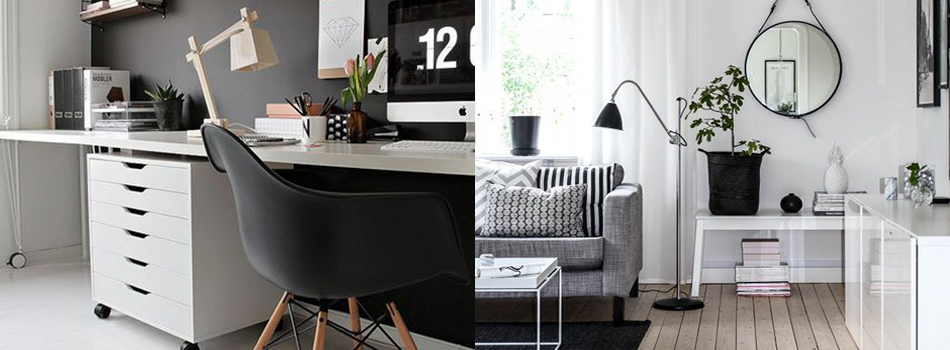 <b> Get the Look: </b> Enhance your home with monochrome design