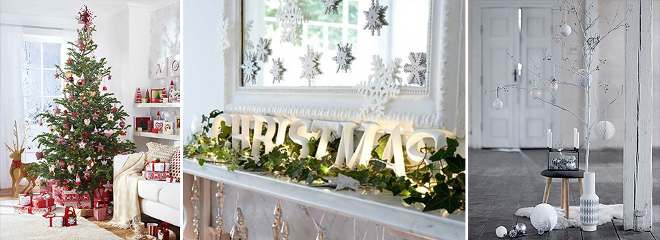 <b> Interior Inspiration: </b> 4 fabulous looks for Christmas 2015