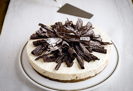 <b> Christmas Recipe: </b> Gordon Ramsay's Pear and Amaretto cheesecake