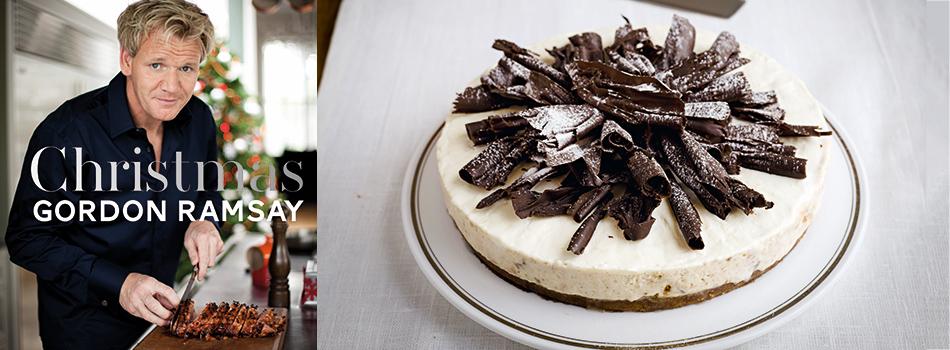 <b> Christmas Recipe: </b> Gordon Ramsay's Pear and Amaretto cheesecake