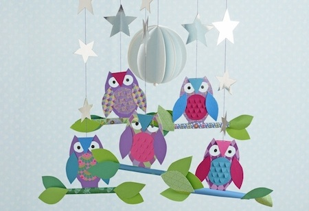 <b> Festive craft: </b> Make a magical owl mobile