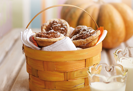 <b> Halloween recipe: </b> Mini Pumpkin Pies