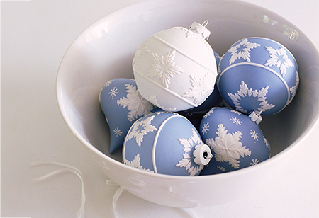 <b> Wedgwood: </b> Christmas decorations