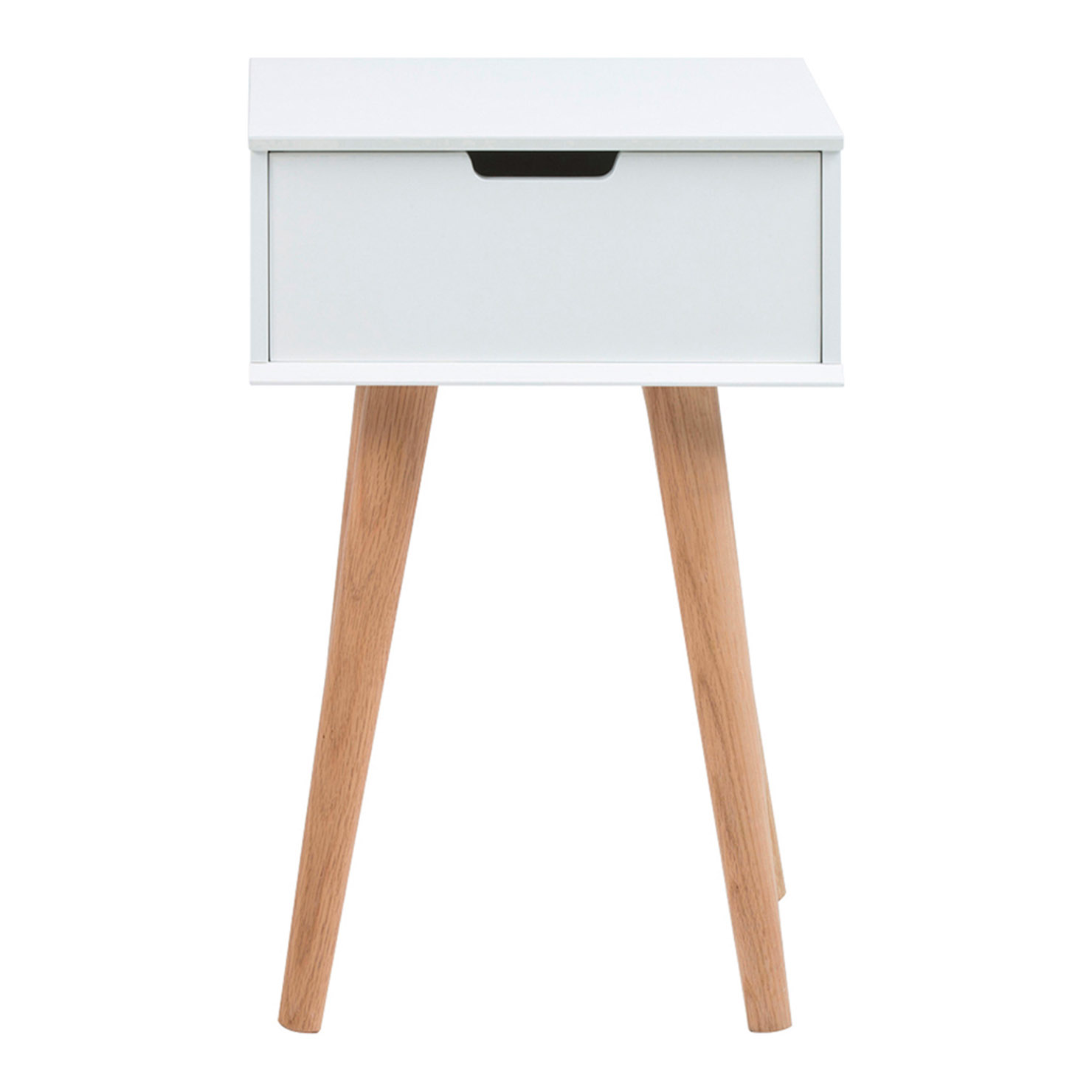 Mina Side Table, White