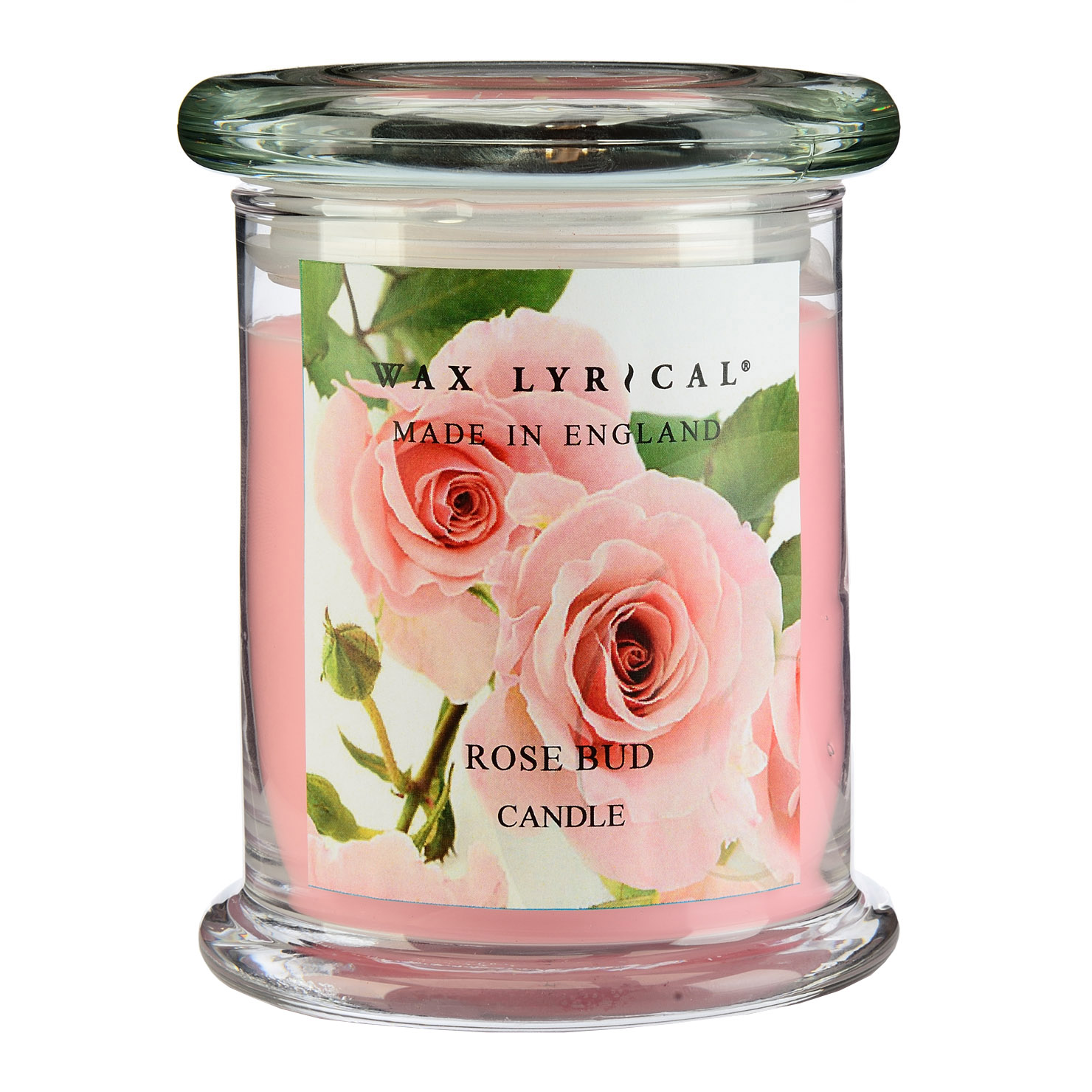 Made in England Rose Bud Jar Candle