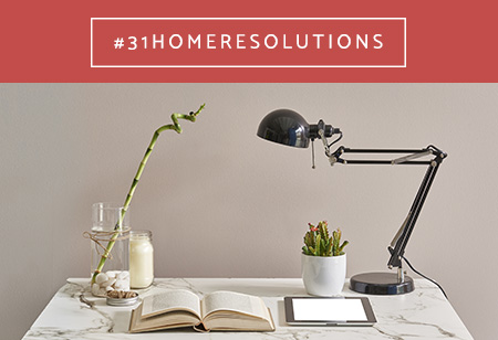 Week 1 of #31homeresolutions